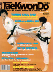 September 1986 TKD Times Cover